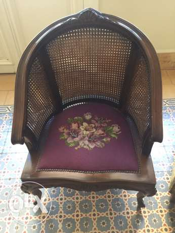 2 Chairs 30's, buy one the second half price