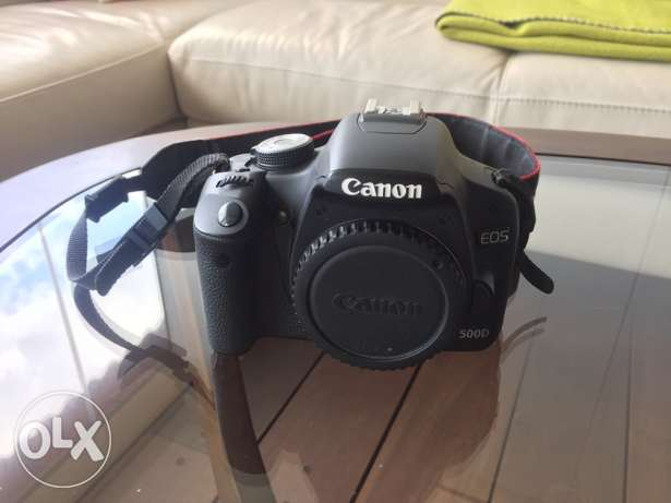 Canon 500D LIKE NEW!