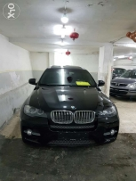 Bmw x6 2009 black and black sport pakge