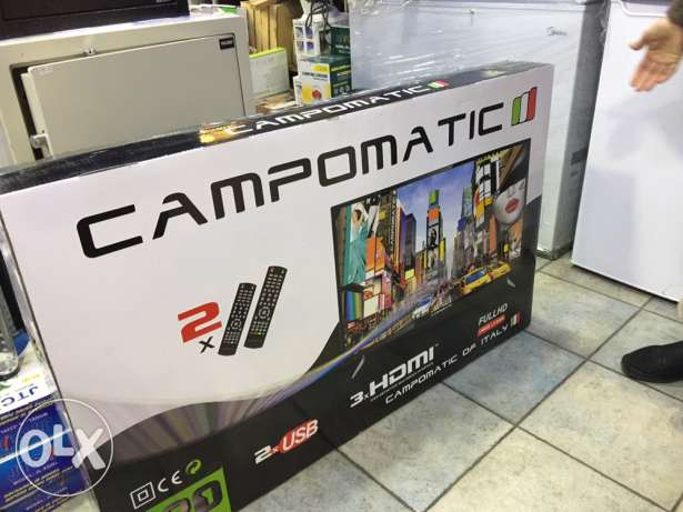 tv led 52 inch campomatic ( new in box)