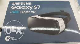 gear VR samsung s7 still new and sealed