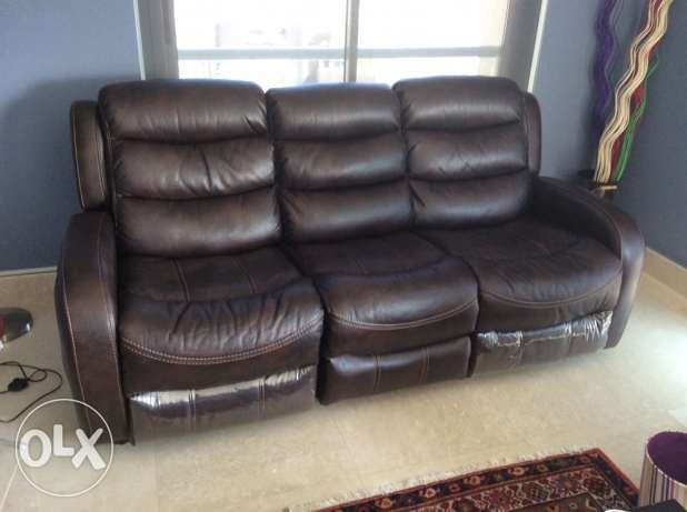 3seater leather