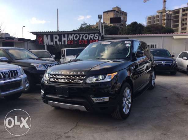 Range Rover Sport HSE V6 Supercharger Black/Black 7 Seats Clean Carfax