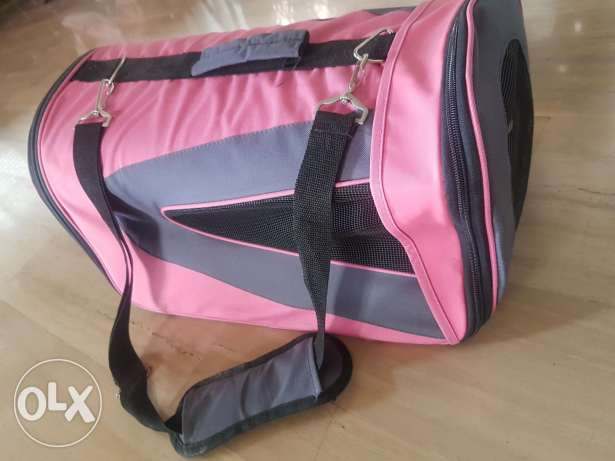 Brand new Pink bag for dogs or cats