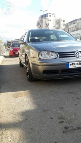 Golf GTI turbo model 2003 full 3alya jant 17 new