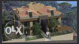 Apartment + Terrace For sale In baabdat