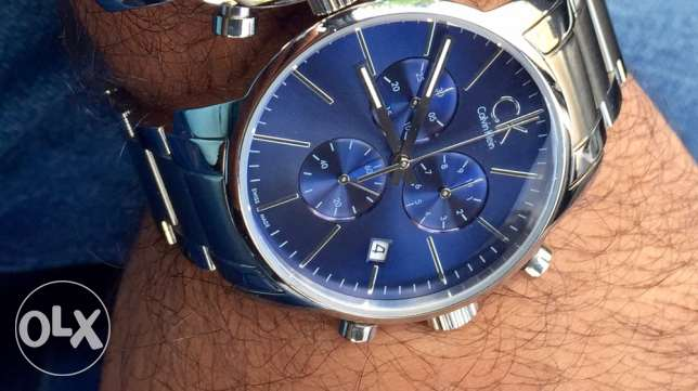 Swiss Calvin klein bleu gitane (brand new from duty free)