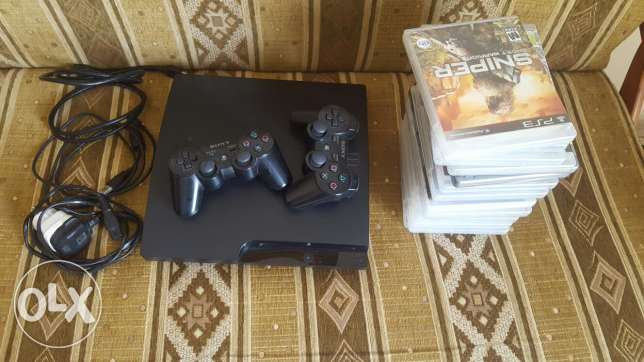 Ps3 with 16 games