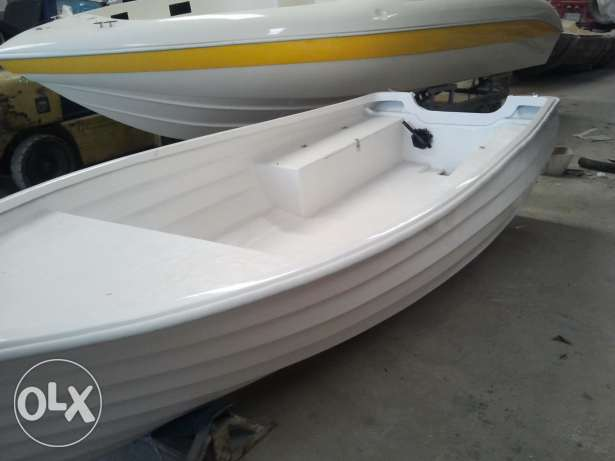 New 4,3 meters fishing boat