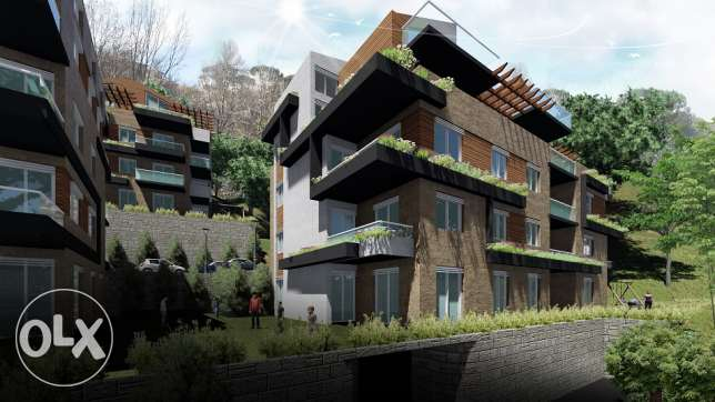 Apartment for sale in BIKFAYA with only 5000$ DOWN PAYMENT