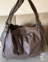 Lancel handbag - Leather - coffee color - used