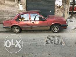 Opel ascona model 88 motor vitess top