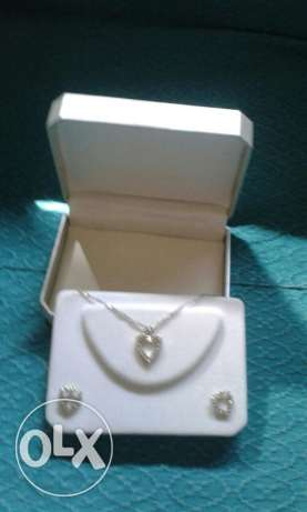 2 sets of necklaces with earrings زلقا -  2