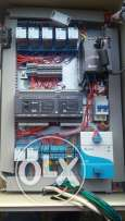 Power Supply + PLC + Motor Drive + all components