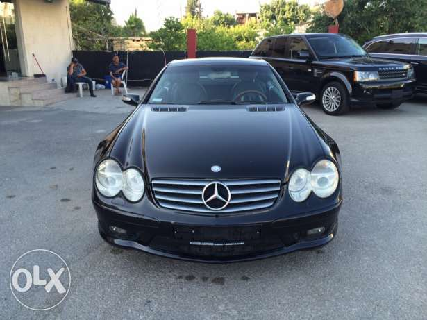 mercedes benz SL500 look amg