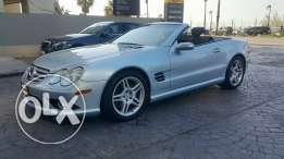 Mercedes SL550//2007 غير مستهلكه كثيرا KM 80 000 only one owner Excell
