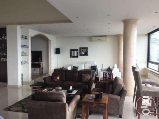 Fully furnished and decorated apartment for rent in Broumana with Pano