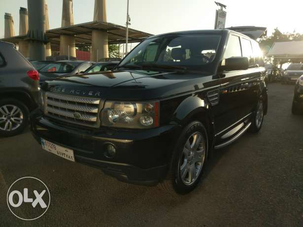 Range rover sport 2006 black on black clean carfax 128k miles
