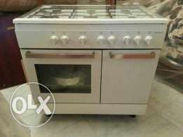Oven and gas top markit france 6 burners jdid mch mousta3mal abadan