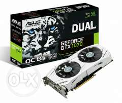 Asus dual gtx 1070 brand new
