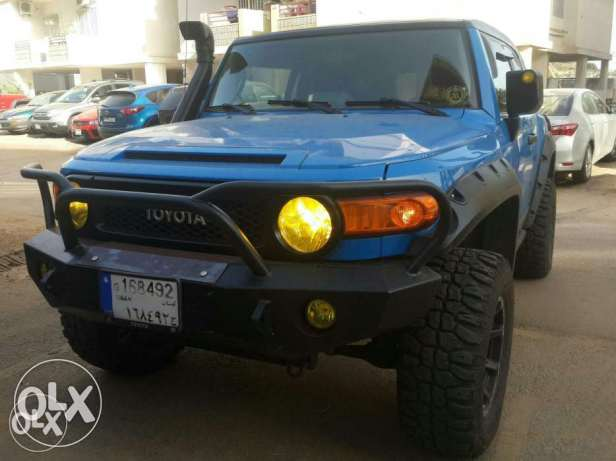Fully modified full lock arb fj cruiser for sale
