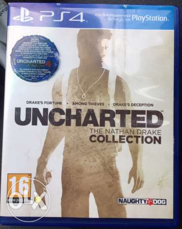 uncharted collection (1-2-3) ps4