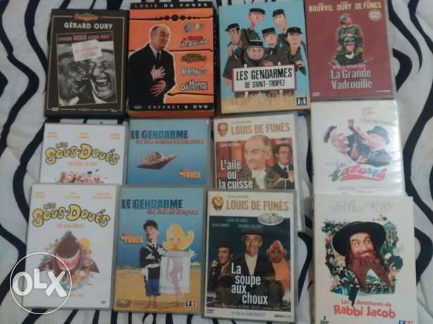 Original dvd's (louis de funez)