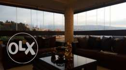Ballouneh 260m2 - duplex - panoramic view - Partly furnished -