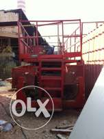 scissor lift used