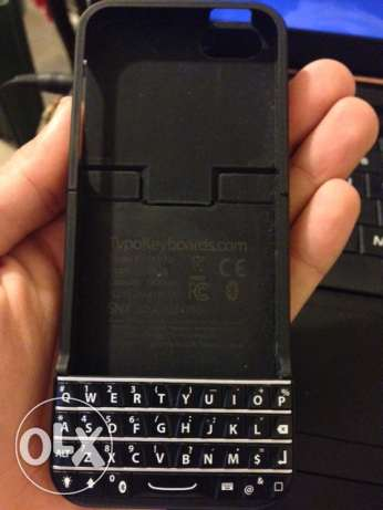 iPhone 5 for sale with Bluetooth keyboard cover انطلياس -  3