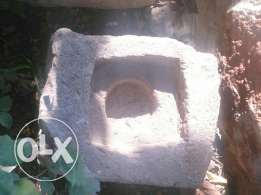 جرن اثري قديم عدد3 historical stone mortar