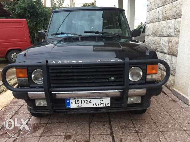 Range Rover classic model 1991 black good condition