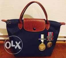Longchamp Limited Edition Navy Blue small