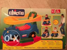 chicco auto 3 in 1 , play ' n ride car , age 1-3 years