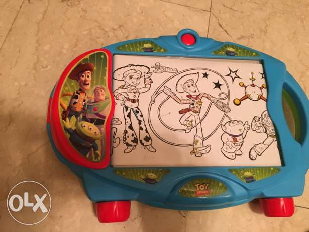 Disney Pixar toy story learn to draw and color with light