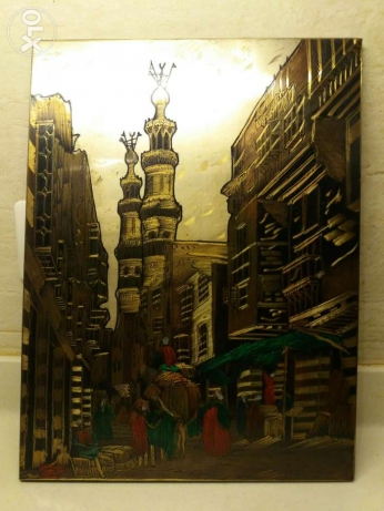 Painting on Metal from Marrakech