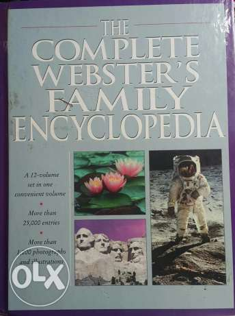 Complete webster's family encyclopedia