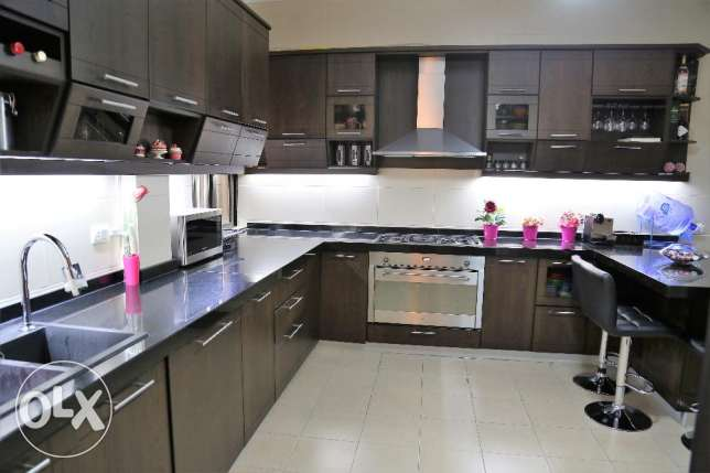 Apartment 190m for sale in Dbayeh (Sea and Mountain view)