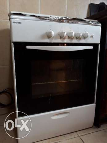 Beko Gas oven - 4 burners
