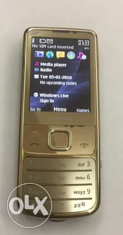 nokia 6700c gold color perfect condition