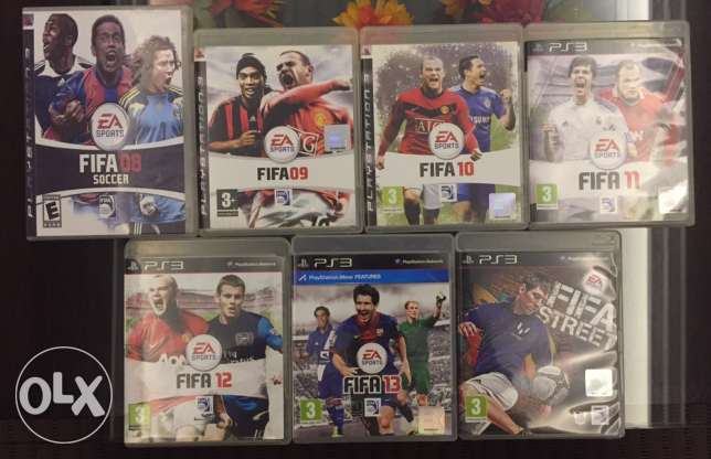 PS3 Fifa Collection Set + Fifa Street