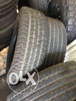 used TIRES in very good conditions 245/65 R 17