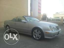 mercedes clk 320 silver interior silver 7000$negotiable