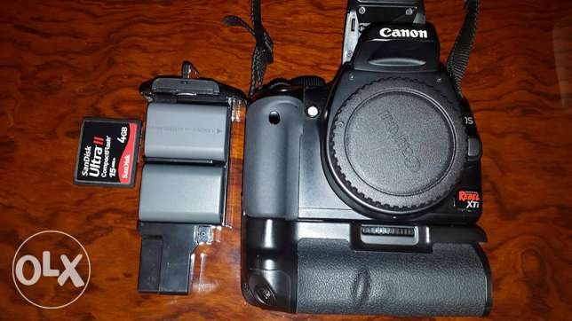 Canon Rebel XTI with Lenses and Accessories