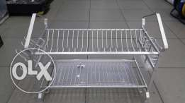 مشك صحون aluminiumdish rack 2tier