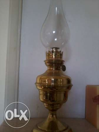 Antique Lampe a kerozene, Qandil kaz, 135 years old, 55cm, 110$