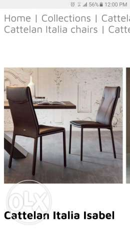 Dining chairs (8) - Cattelan Italia - brand new from Italy