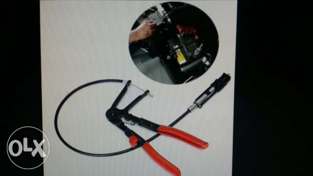 Wire hose clamp plier