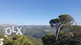 Good location land in Broumana Maska Metn with amazing Mountains view.
