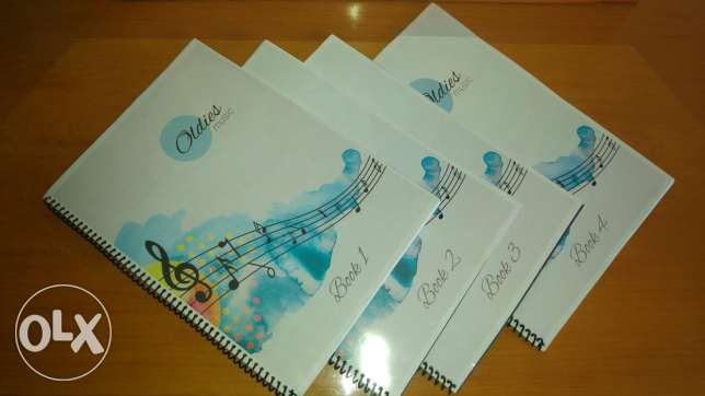Oldies music sheets